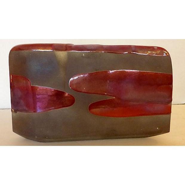 Sculptural Art Pottery Vase - Image 4 of 6