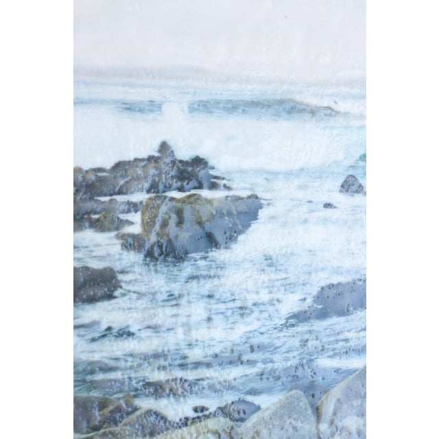 'Crashing' Photo Encaustic Painting - Image 3 of 4