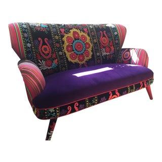 Suzani Upholstered 3-Seater Sofa