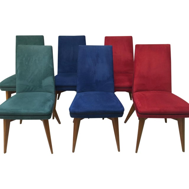 Mid-Century Erton Dining Chairs - Set of 6 - Image 1 of 9