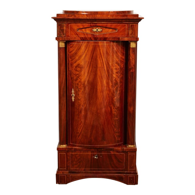 19th Century Danish Mahogany Empire Cabinet - Image 1 of 11
