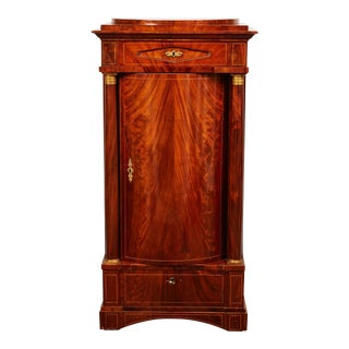 19th Century Danish Mahogany Empire Cabinet