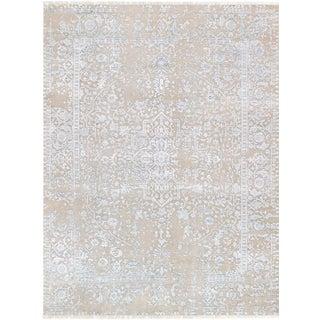"Pasargad Transitiona Silk & Wool Rug - 9' X 11'11"""