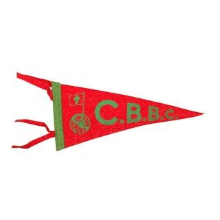 Vintage CBBC Felt Flag