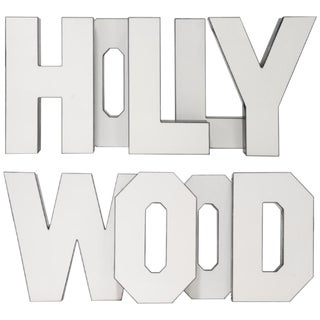 "Vintage ""Hollywood"" Letters - Set of 9"