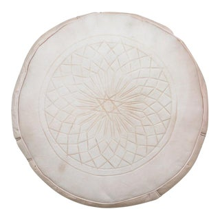 'Au Natural' Moroccan Leather Pouf