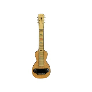 1930s Silvertone Birdseye Maple Lap Steel Guitar