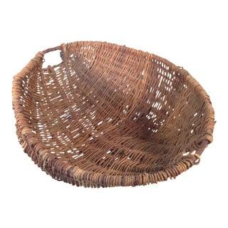 European Willow Fruit Basket