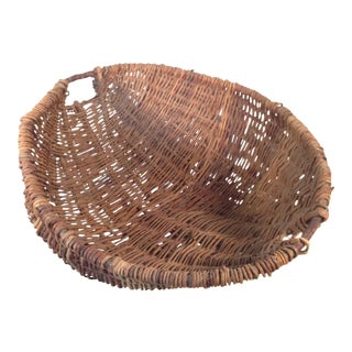 European Willow Fruit Basket