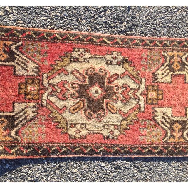 Anatolian Persian Rug, 18x40 - Image 3 of 7