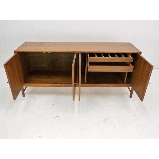 Kipp Stewart for Calvin Furniture Teak & Rosewood Inlay Sideboard - Image 7 of 11