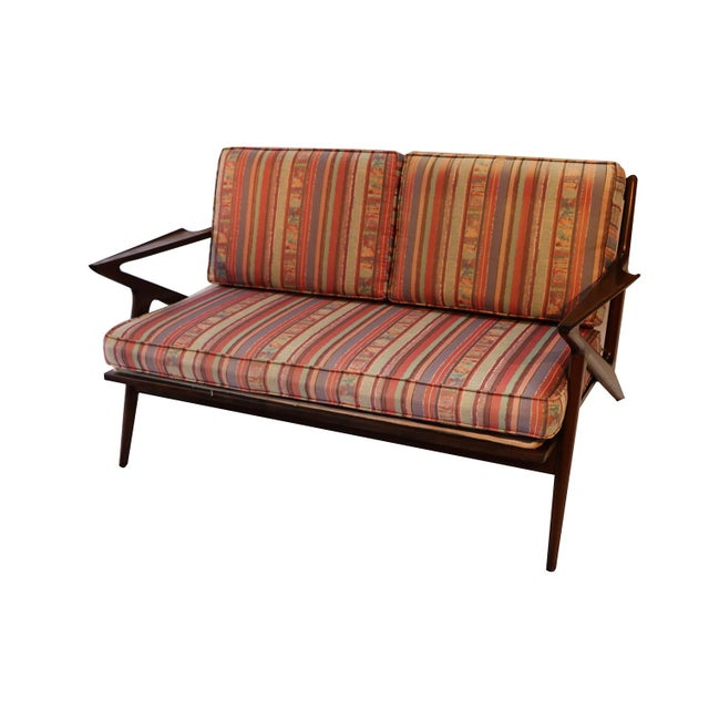 Poul Jensen Original Z Lounge Sofa Selig Danish Mid Century - Image 10 of 10