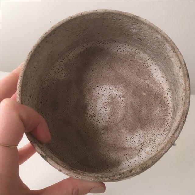 Small Stoneware Planter or Vase - Image 4 of 6