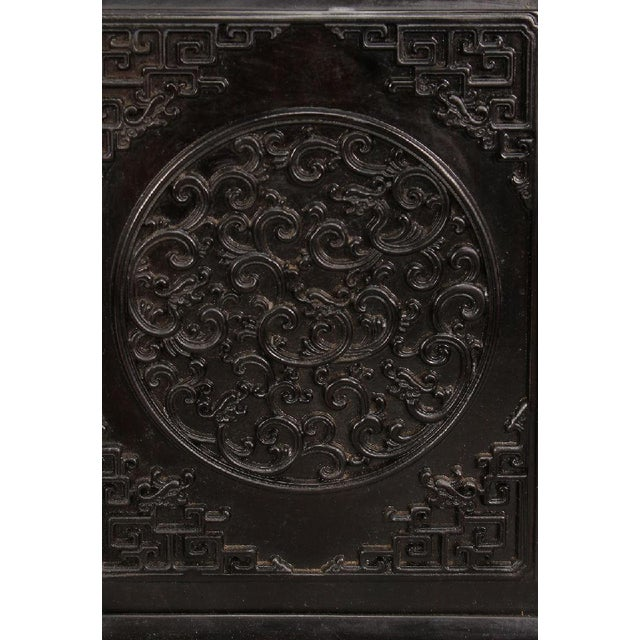 Antique Chinese Zitan Cabinets - A Pair - Image 8 of 11