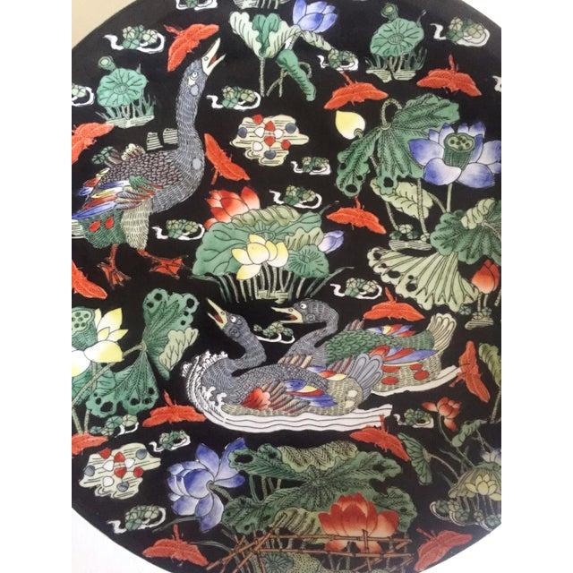 Vintage Asian Swan Platter - Image 4 of 8