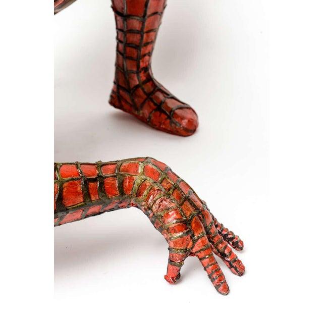 Image of Domenico Pellegrino Spiderman Sculpture