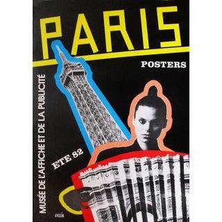 "1982 Razzia French ""Paris Posters"" Exhibition Poster"