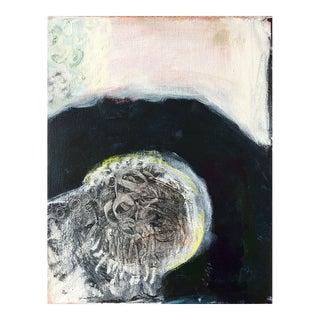 "Neicy Frey ""Manito Basalt Bridge"" Original Abstract Painting"