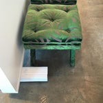 "Image of Pair of Newly Upholstered Billy Baldwin ""X"" Benches"