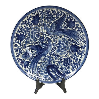 Delft Blue & White Plate Charger