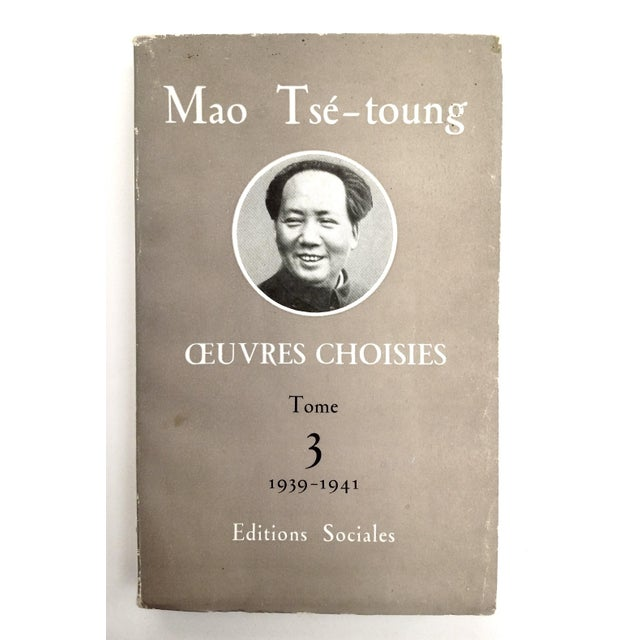 Mao Tse Tungh Collectible - 3 Volume Set - Image 6 of 10