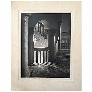 Maurice Weaver Spanish Interior Photograph 1952