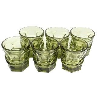 Chartreuse Glasses - Set of 6