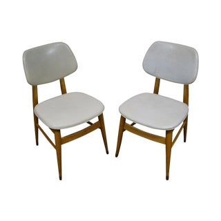 1950s Thonet Mid-Century Modern Side Chairs - A Pair