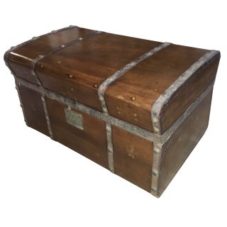 Antique Jenny Lind Trunk