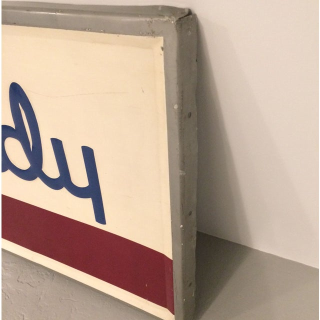 Image of Soda Candy Large Vintage Metal Sign
