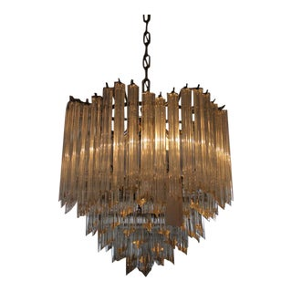 Six Tier Murano Crystal Chandelier