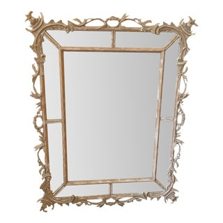 Distressed Double Framed Mirror