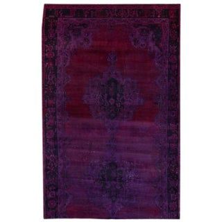 "Apadana - Vintage Overdye Rug, 5' x 7'7"""
