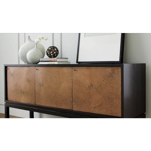 Crate & Barrel Cirque 3 Door Sideboard - Image 5 of 11