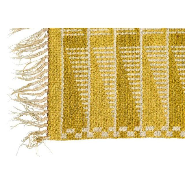 Vintage Swedish Flat-Weave Carpet - Image 7 of 9