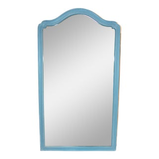Tall Blue Mirror