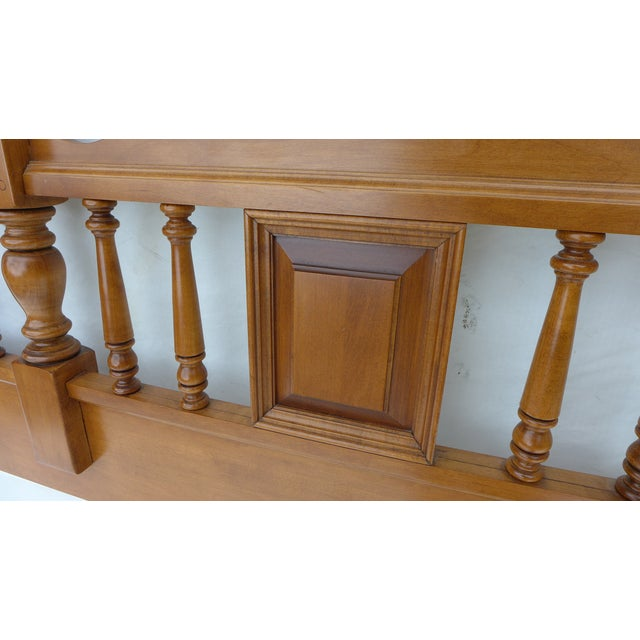 Cottage Style Drexel Haritage Queen Size Headboard - Image 7 of 7