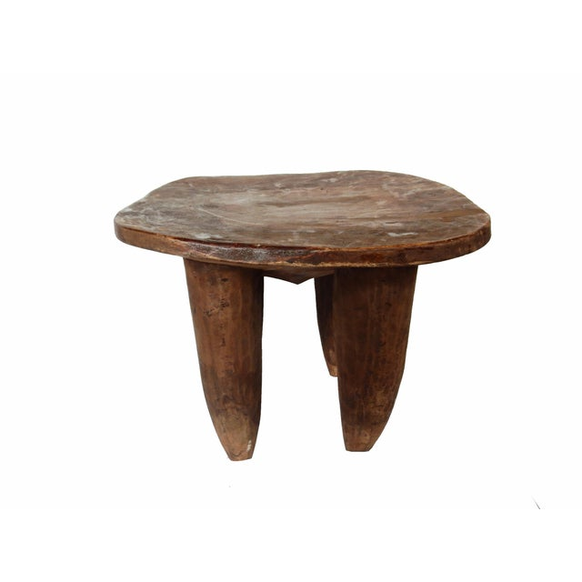 Image of Cote d'Ivoire Carved Senufo Stool