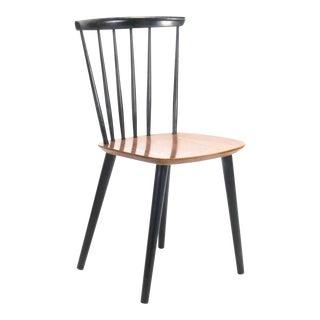 Danish Teak & Ebonised Frastrup Dining Chair