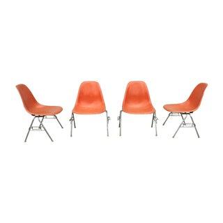 Herman Miller 1960s Fiberglass Chairs - Set of 4