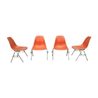 Herman Miller 1960s Fiberglass Chairs - Set of 4