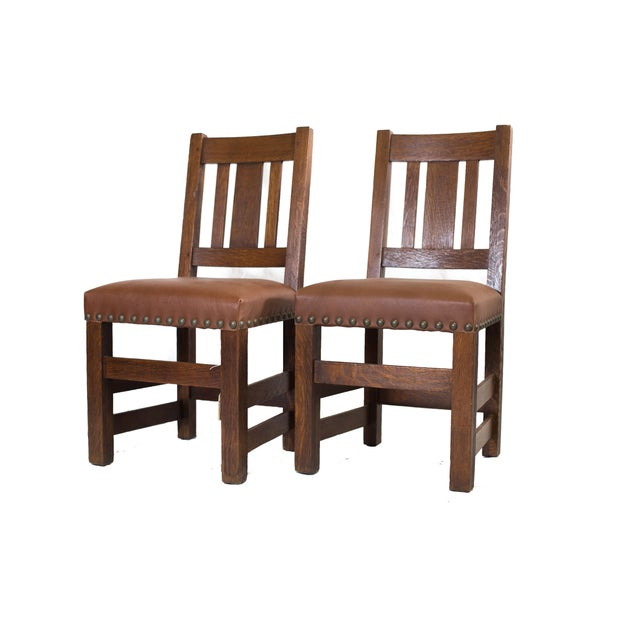 Barber Brothers Dining Chairs - Set of 4 - Image 4 of 4