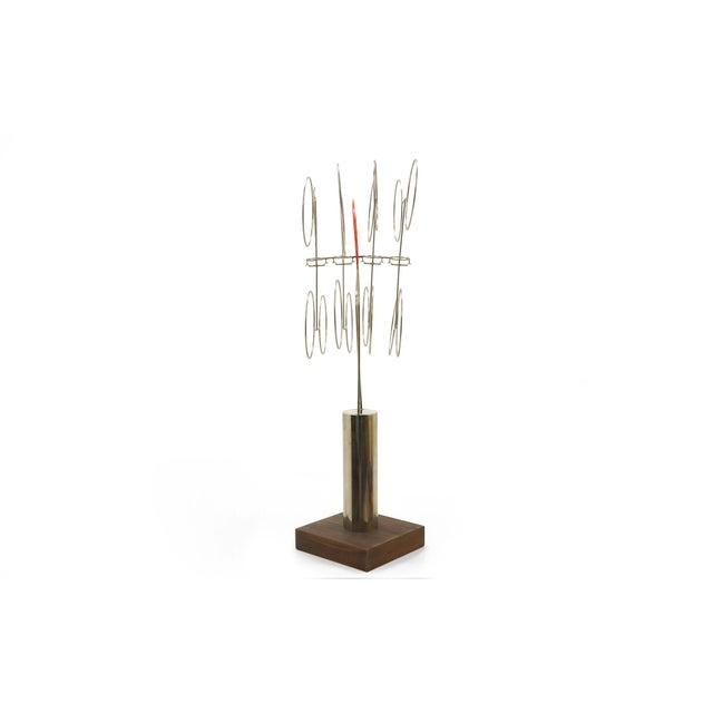 Joseph Burlini Kinetic Sculpture - Image 10 of 10