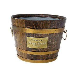 1930s French Double Champagne Bucket