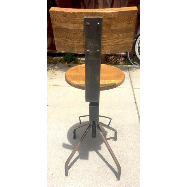 Rejuvenation Industrial Adjustable Stools - Set of 3 - Image 4 of 11