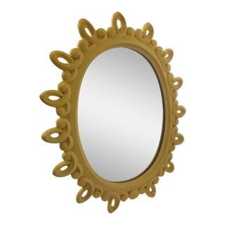 Mid Century Boho Chic Sunburst Mirror