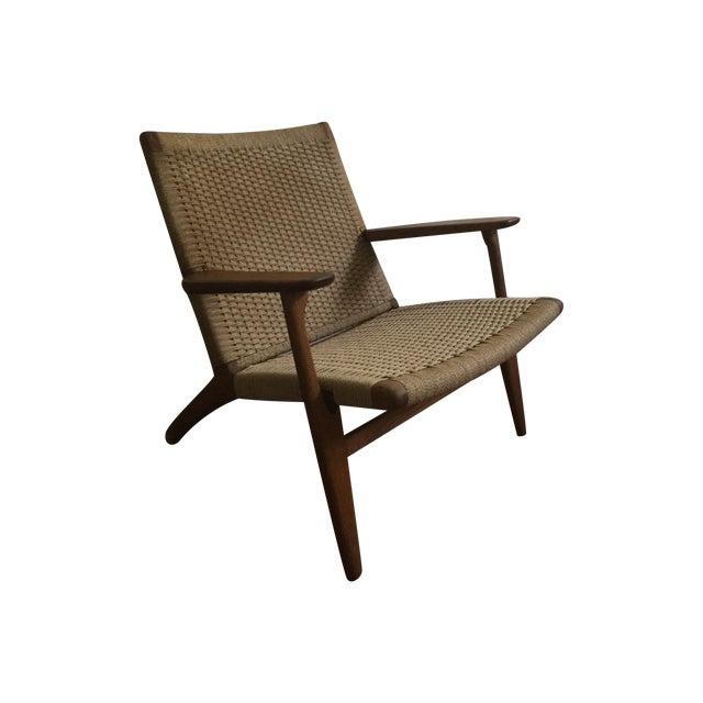 hans wegner ch25 chair chairish. Black Bedroom Furniture Sets. Home Design Ideas