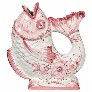 1960s Ceramic Fish Vase