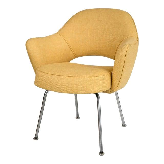 Saarinen Executive Armchair, Canary Yellow - Image 1 of 8