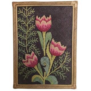 Woven Cane & Rattan Tulip Botanical